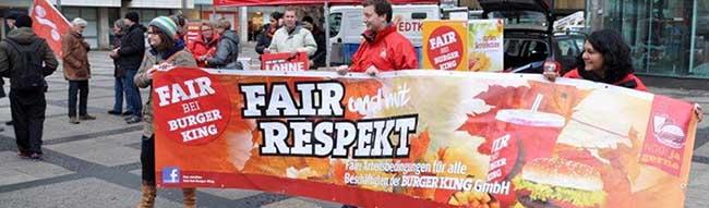 Gute Laune bei der Gewerkschaft NGG: Hoffnung durch Führungswechsel bei Burger King