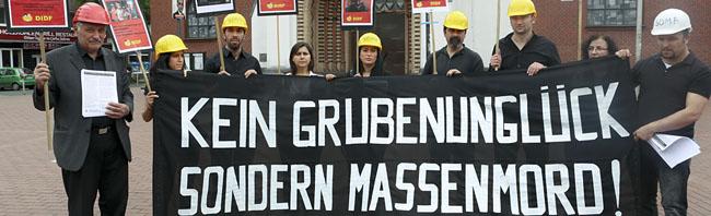 Gedenken an die Opfer des Bergwerks in Soma: Bezent e.V. lädt am Freitag um 17 Uhr zur Demo in der Nordstadt ein