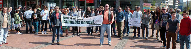"Dritter ""Global Marijuana March"" in Dortmund"