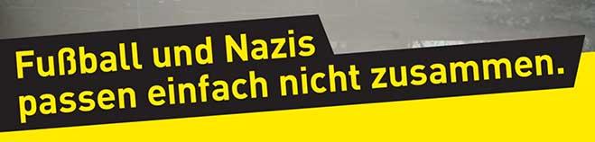 VIDEOBOTSCHAFT:  BVB setzt Zeichen gegen Rechts