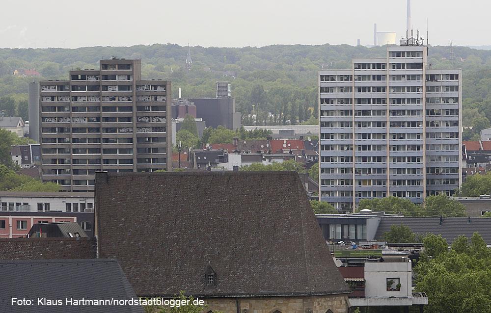 Hochhäuser an der Kielstraße
