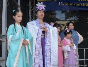 Münsterstraßenfest, Chinesische Kostüme aus alter Zeit