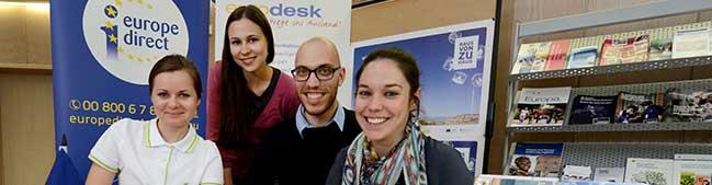 Neue Eurodesk-Servicestelle in Dortmund eröffnet