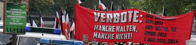 Heute Neonazi-Kundgebung in der Nordstadt