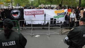 Zahlreiche Proteste von BlockaDO gab es gegen den Neonazi-Aufmarsch in Westerfilde.