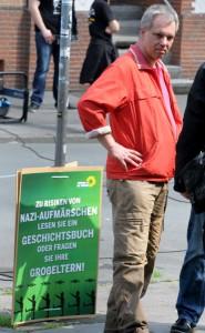 Neonazi Christian Worch hat die Partei Die Rechte gegründet.