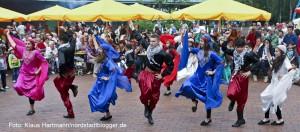 Tanzfolk 2014 am Dietrich-Keuning-Haus. Palestinesischer Tanz