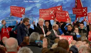 SPD-Wahlkampf-Veranstaltung mit Martin Schulz und Hannelore Kraft in Dortmund