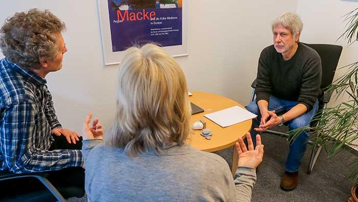 Jürgen Krinke ist Leiter der Ev. Beratungsstelle. Foto: Stephan Schuetze/VKK
