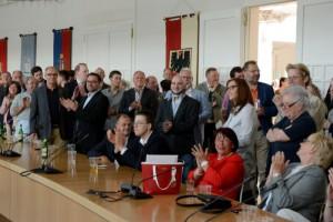 SPD, CDU, Grüne und FDP haben wieder Säle gemietet, um hier gemeinsam zu feiern.