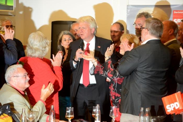 Wahl-Party im Rathaus Dortmund