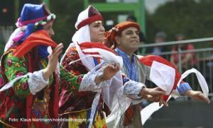 Tanzfolk 2014 am Dietrich-Keuning-Haus. Folklore aus der Türkei