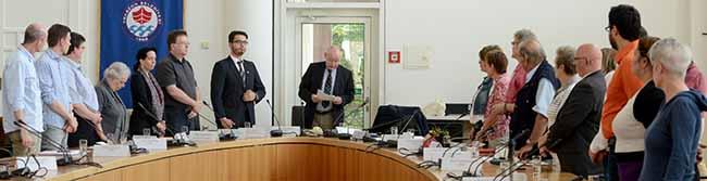 Nachfolger für Siegfried Böcker gewählt: Dr. Ludwig Jörder ist neuer Bezirksbürgermeister der Nordstadt