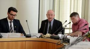 Dr. Ludwig Jörder (m.)  ist neuer Bezirksbürgermeister der Nordstadt.