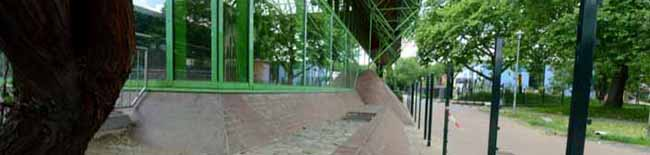 Unterschiedliche Ämter und Betriebe zuständig: Dietrich-Keuning-Haus soll nur halb gestrichen werden