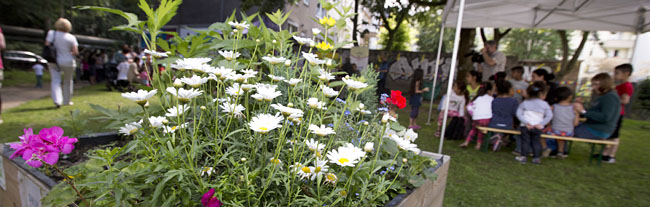 """Sturm verschonte """"Kleine Heroldwiese"""": Erstes Gartenfest im Bürgergarten konnte stattfinden"""