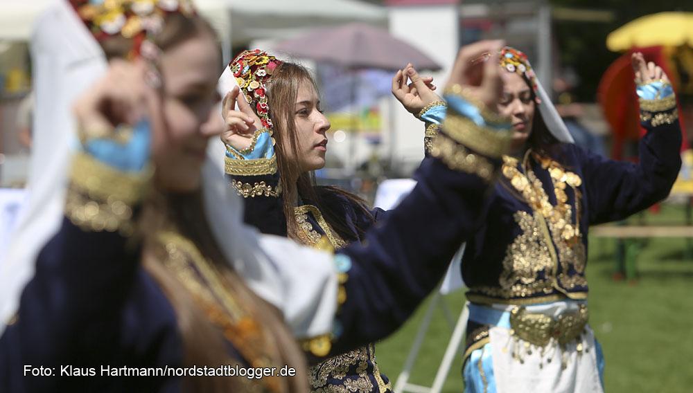 Hoeschpark- Fest 2014, Tanzvorführung von Türk Egiti, Merkezi