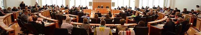 Rat hat gewählt: Jörder und Sauer bleiben Bürgermeister
