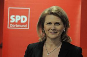Die Dortmunder Bundestagsabgeordnete Sabine Poschmann (SPD).