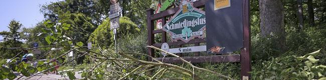 """Sturmtief """"Sabine"""": Kein regulärer Unterricht am Montag – öffentliche Einrichtungen schließen am heutigen Sonntag"""