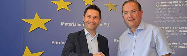 Französischer Abgeordneter in Dortmund