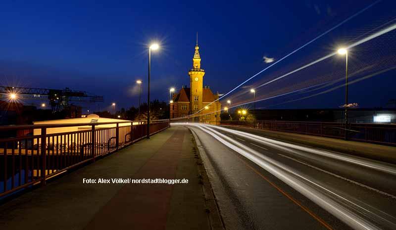 Altes Hafenamt - Nachtansicht