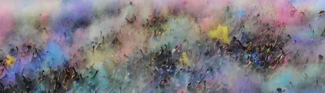 """FOTOSTRECKE: Ein farbenfrohes Fest im Fredenbaum – Das """"Holi Festival of Colours"""" gastierte erneut in Dortmund"""