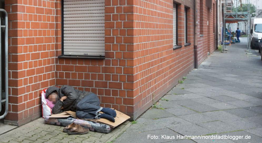Immer mehr Menschen in Dortmund sind wohnungs- oder obdachlos. Foto: Klaus Hartmann