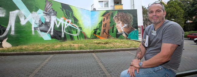 Nordstadt hautnah: Ein Rundgang mit Quartiershausmeister Andreas Horst im Schleswiger Viertel