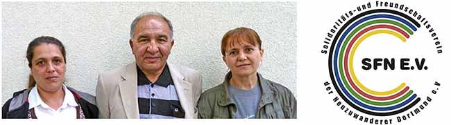 Neuzuwandererverein präsentiert viersprachigen Informationsflyer über seine Vereinsarbeit