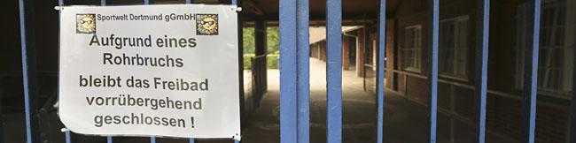 Ein Leistungszentrum für den angelsächsischen Sport im Hoeschpark soll das Freibad Stockheide retten
