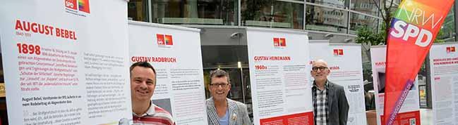 Ausstellung in der Berswordthalle: Die SPD, die Schwusos und der § 175 – Stationen einer 120jährigen Entwicklung