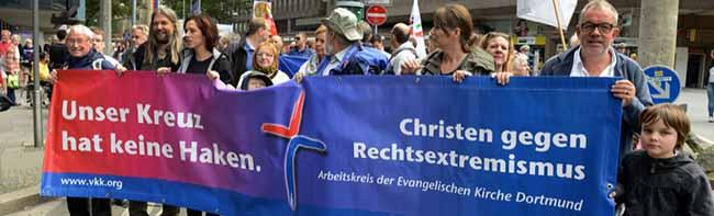"""""""Dortmund zeigen, wie es wirklich ist"""" – Diskussion des Anti-Naziprotests beim Arbeitskreis Christen gegen Rechts"""