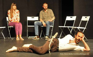 """""""Container Love"""", eine Inszenierung des Theaters """"glassbooth"""" in Zusammenarbeit mit dem Theater im Depot in Dortmund.Premiere ist am Freitag, 29.August 2014 an der Immermannstrasse. Weitere Aufführungen sind am 30.08 und 25.09."""