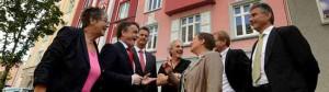 Die Dogewo wird von der Stiftung Soziale Stadt das sanierte Haus in der Brunnenstraße 51 übernehmen.