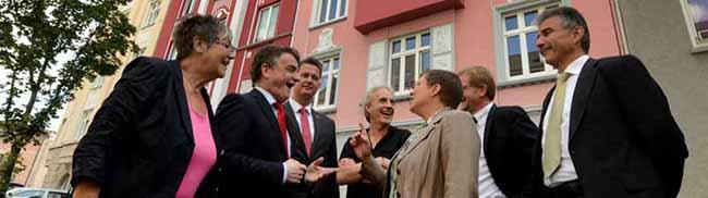 Stiftung Soziale Stadt: 800.000 Euro machen aus einer Problemimmobilie in der Brunnenstraße ein Schmuckstück