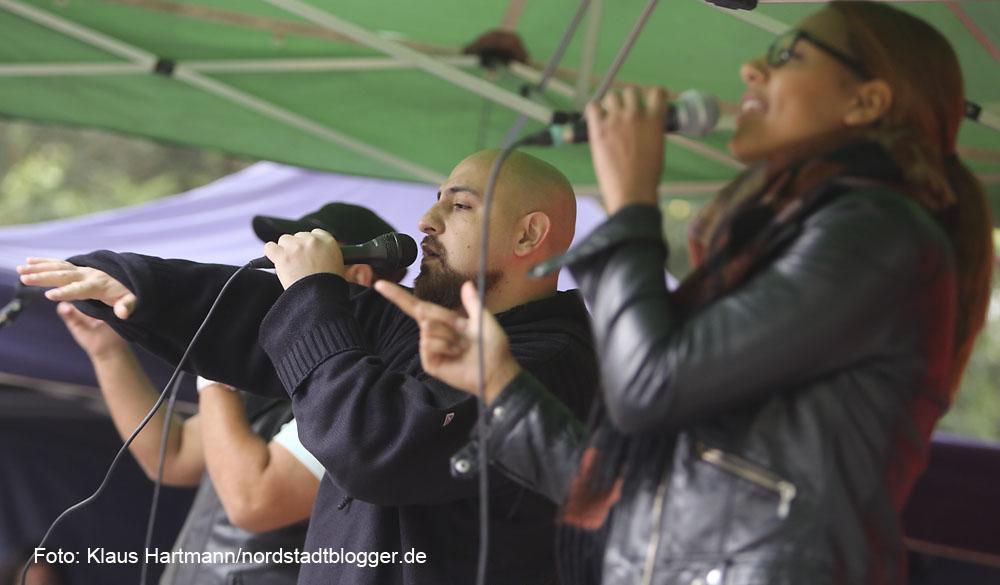 Musik. Kultur. Picknick. Auf dem Nordmarkt 2014, Auftaktveranstaltung. Klangpoet