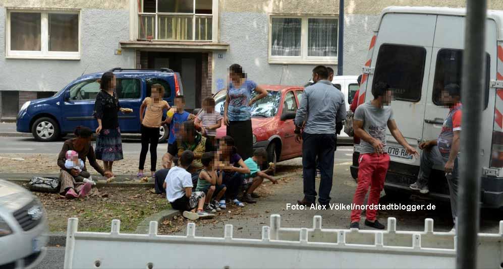 Eine weitere Roma-Familie kommt in Dortmund an.