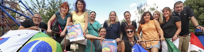 """""""Die ganze Welt an einem Ort"""": Buntes Kinder- und Familienfest rund um das KEZZ im Blücherpark"""