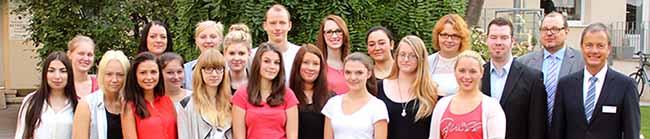 19 junge Menschen starten ihre Ausbildung im Klinikum
