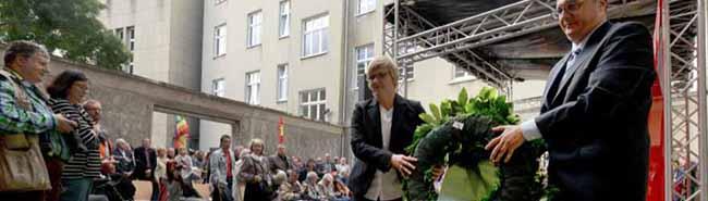 """SLADO-Gedenken – Siekmann: """"123 Jahre lang hat der Paragraph 175 Homosexuellen das Leben zur Hölle gemacht."""""""