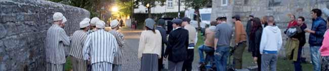 Dreharbeiten in der Steinwache und auf der Wewelsburg: Ein filmischer Appell für Chancengleichheit und Menschenrechte