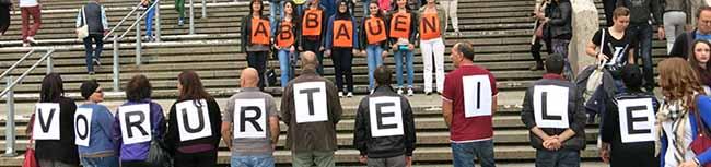 Dortmunder Flashmob gegen Rassismus