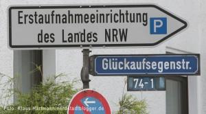Erstaufnahmeeinrichtung des Landes NRW in Hacheney
