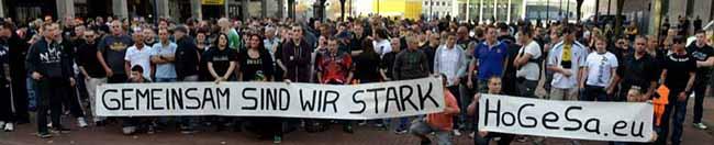 """300 Hooligans vernetzen sich in Dortmund gegen Salafisten – viele Neonazis von """"Die Rechte"""", NPD und ProNRW sind dabei"""