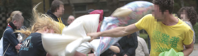 Soziales Zentrum Avanti: Kulturprogramm geht weiter – Kissenschlacht und 5-Minuten-Konzert auf dem Nordmarkt