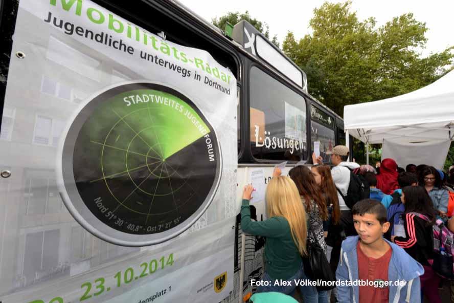 Veranstaltung Mobilitätsradar an der Gertrud-Bäumer-Realschule