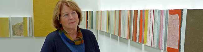 Monika Pfeiffer präsentiert Kunst in Kammern