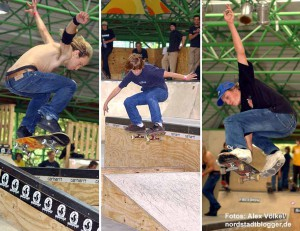 Der Skatepark erfreut sich landesweit großer Beliebtheit.