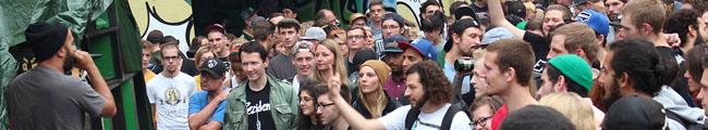 Dortmunder Gipfeltreffen der Hip Hop Künste: Adler-Backyard-Jam im Unionviertel